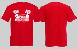 Sektion Stadionverbot Shirt Rot