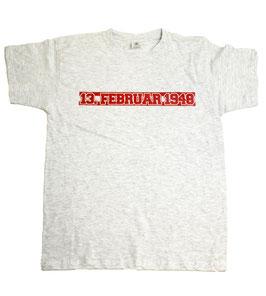Köln Datum Shirt Grau