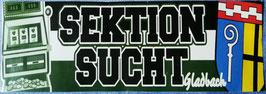Gladbach Sektion Sucht Aufkleber