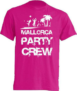 Mallorca Party Crew Shirt Pink