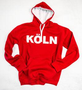 Köln Hoodie Rot