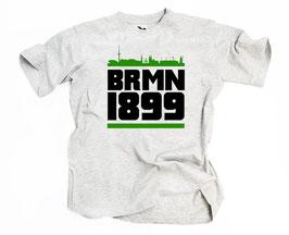 Bremen 1899 Grüner Balken Shirt Grau