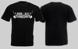 Gegen alle Stadionverbote Shirt schwarz