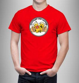 Stuttgart Lautern Freundschaft Bier Shirt Rot