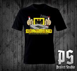 Dortmund Stadion Fackeln Shirt