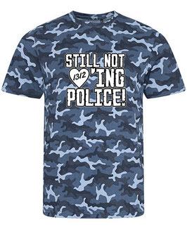 Still not loving Police Camouflage Blau Shirt