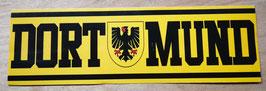 Dortmund länglich mit Wappen Aufkleber