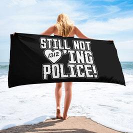 Still not loving Police Strandtuch