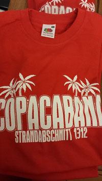 Copacabana Strandshirt rot