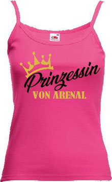 Prinzessin Tanktop Pink