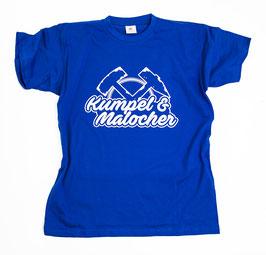Gelsenkirchen Kumpel und Malocher Shirt Blau
