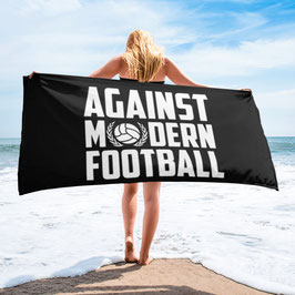 Against modern Football Strandtuch