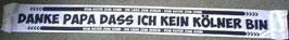 Gladbach Danke Papa das ich kein Kölner bin Seidenschal