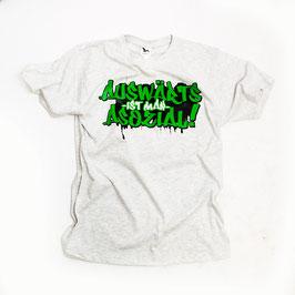 Auswärts ist man asozial Shirt Grün