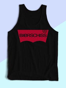 Bierschiss Tanktop Schwarz