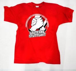 Stuttgart Lautern Freundschaft Shirt Rot