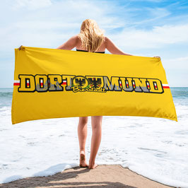 Dortmund länglich Strandtuch