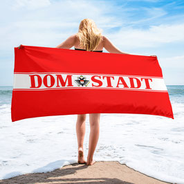 Köln Domstadt Rot weiss Strandtuch