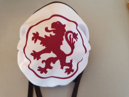 Braunschweig roter Löwe rund Maske