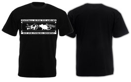 Anti Rb Football for me Shirt Schwarz