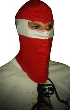 Sturmhaube Rot Weiss