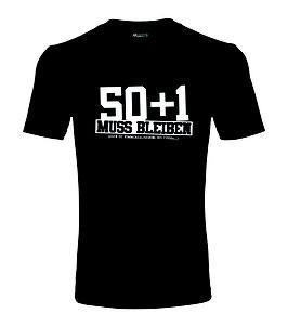 50+1 Shirt Schwarz