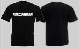 Traditionsverein Shirt Schwarz
