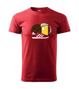 München Ball ,Bier ,Schuhe Shirt Rot