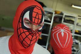 Sturmhaube Spider Rot