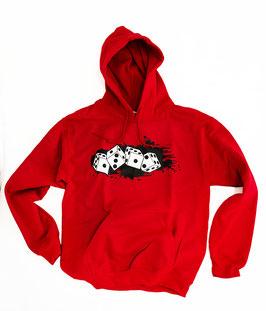 ACAB Würfel Rot Hoodie