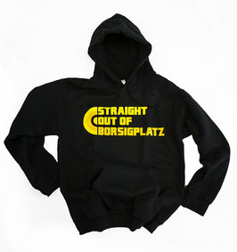 Dortmund Straight out of Borsigplatz Hoodie Schwarz