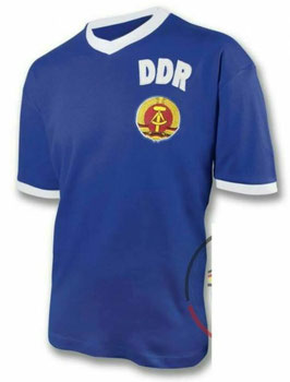 DDR Retro Shirt Blau