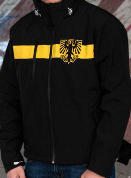 Dortmund Tremonia Softshelljacke Schwarz