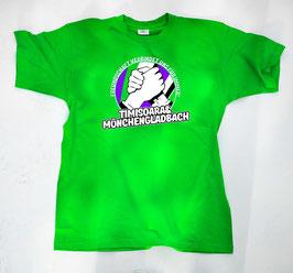 Gladbach Timisoara Freundschaft Shirt Grün
