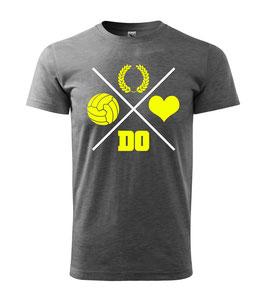 Dortmund Kreuz Dunkelgrau Shirt