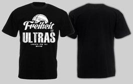 Freiheit für Ultras Shirt Schwarz