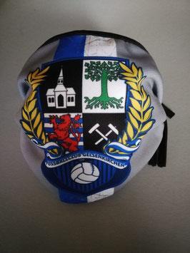 Gelsenkirchen Streifen Wappen Lorbeer Maske