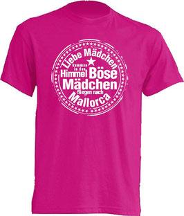 Böse Mädchen Shirt Pink