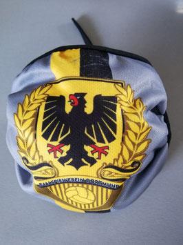 Dortmund Stadtwappen Lorbeerkranz Maske