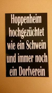 Hoppenheim hochgezüchtet Aufkleber