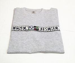Gelsenkirchen länglich Shirt Grau