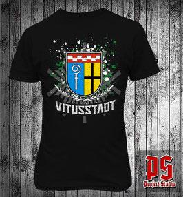 Mönchengladbach Vitusstadt mit Stadtwappen Shirt