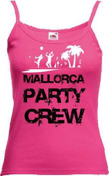 Mallorca Partycrew Tanktop Pink