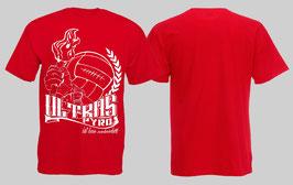 Ultras Pyro Shirt ROT