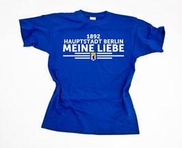 Berlin Meine Liebe untereinander Shirt Blau