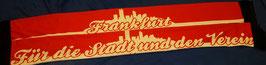 Frankfurt für die Stadt und Verein Seidenschal