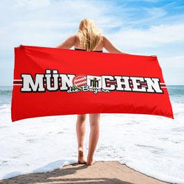 München länglich Strandtuch