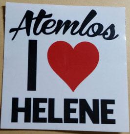 150 I love Helene Aufkleber