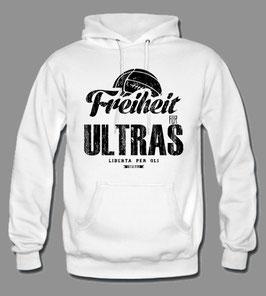 Freiheit für Ultras Hoodie weiss