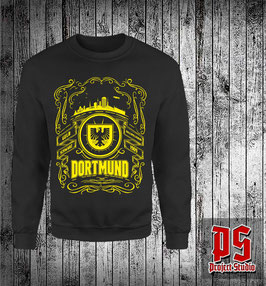 Dortmund Adler Skyline Rahmen Sweatshirt oder Shirt